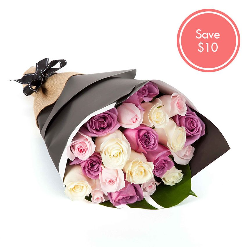 Roses - Pretty Pastel (20) Special