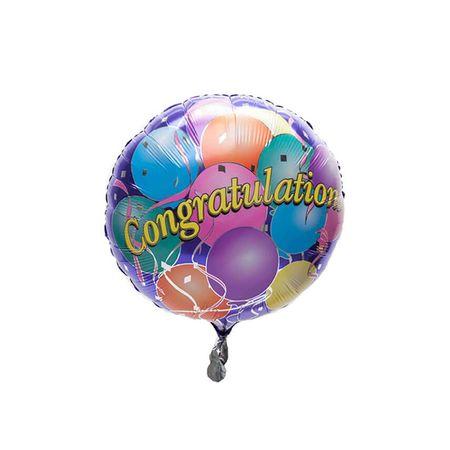 Single Congrats Foil Balloon
