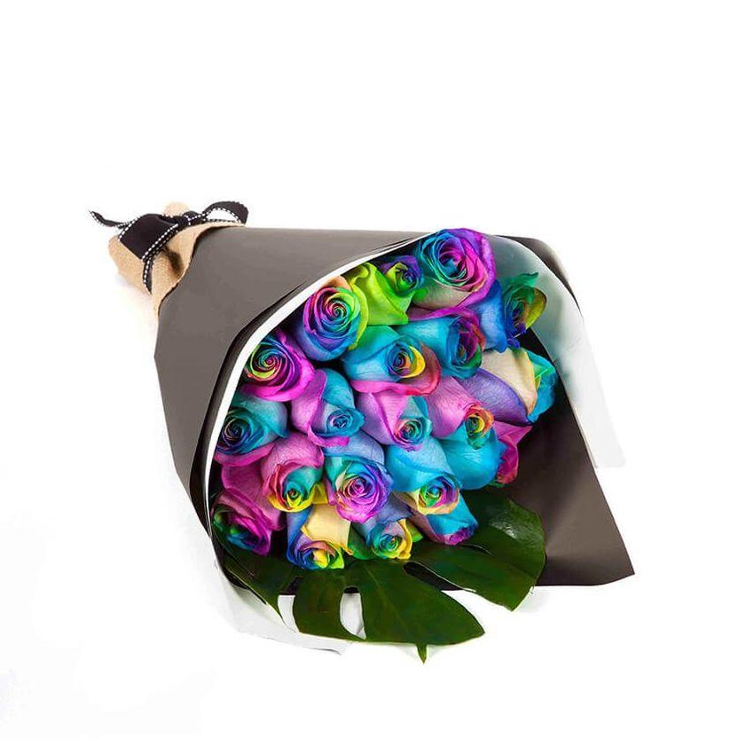Rainbow Roses (20)