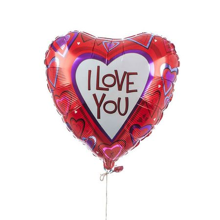 Single Love Foil Balloon