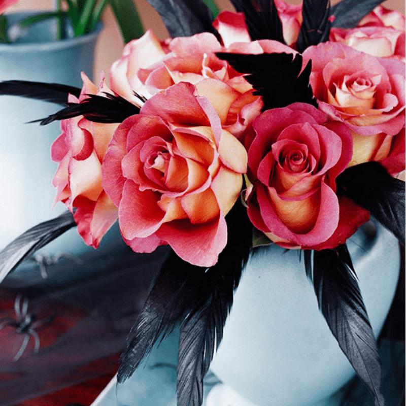 Spooky Floral Arrangements